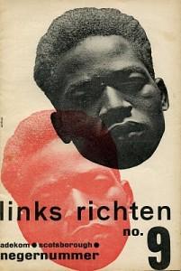 Het 'Negernummer' van Links Richten, ca. 1932-1933. Archief Universiteit van Amsterdam