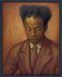 Portret van Anton de Kom door J. A. Donker Duyvis, 1938. Tropenmuseum, Amsterdam. Coll.nr. 3029-1