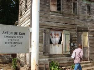 Het geboortehuis van Anton de Kom in Paramaribo, Suriname. Persoonlijk bezit Hester Martin
