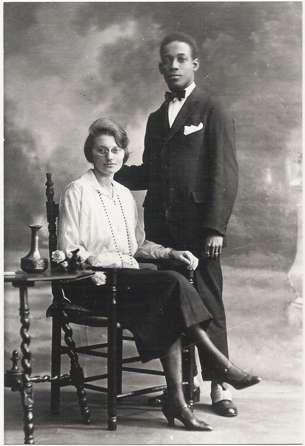 Huwelijk Anton de Kom en Nel Borsboom