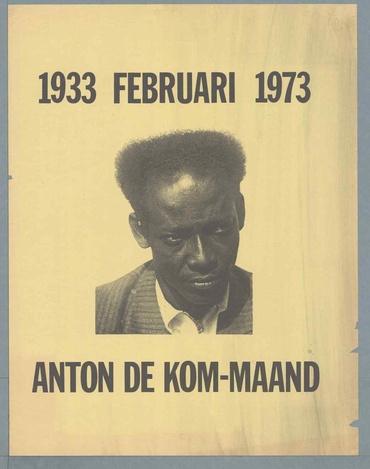 Anton de Kom maand